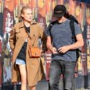 Diane Kruger – Seen out with Norman Reedus in Los Angeles