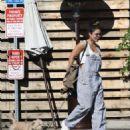 Vanessa Hudgens – Out with her pet pup in Los Feliz