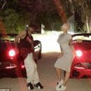 Amber Rose and Nick Cannon Show off Their Matching Ferraris - January 24, 2015 - 454 x 296