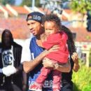 Blac Chyna and Tyga Out in Calabasas with Their Son King Cairo - March 17, 2014