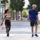 Ariel Winter – In spandex leaving a gym in Studio City