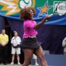 Serena Williams - Arthur Ashe Kids Day At The USTA Billie Jean King National Tennis Center On August 29, 2009 In New York City