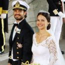 Sofia Hellqvist and Prince Carl Philip of Sweden marry in spectacular wedding ceremony