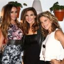 Courtney Bingham-Sixx, Heather McDonald, and Alexis Carra attend the Covenant House California (CHC) All Star Mixology competition at SkyBar at the Mondrian Los Angeles on October 1, 2014 in West Hollywood, California.