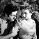 Joan Evans With Farley Granger - 454 x 338