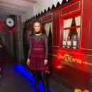 Nina Agdal – Tradicional Dia de los Muertos Party at The McKittrick Hotel in NYC 11/1/ 2016 - 454 x 568