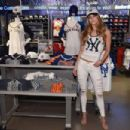 Nina Agdal attends Locker Room by LIDS at Macy's Herald Square on April 14, 2016 in New York City