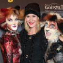 Wolke Hegenbarth - the premiere of the 'Cats Musical' in Hamburg, 06.01.2011