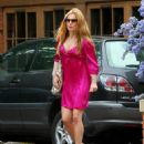 Geri Halliwell - Looks Pretty In Pink In London, May 3, 2007