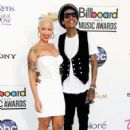 Amber Rose and Wiz Khalifa Arrive at the 2012 Billboard Music Awards held at the MGM Grand Garden Arena in Las Vegas, Nevada - May 20, 2012