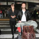 Alessandra Ambrosio Spotted at LAX - 400 x 600