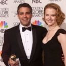 George Clooney and Nicole Kidman - The 58th Annual Golden Globe Awards (2001)