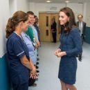 Kate Middleton at Kings College Hospital in south London - 454 x 682