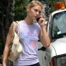 Claire Danes - In Black Shorts After Gym In Soho, NY 2007-08-09