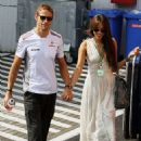 Jenson Button and Jessica Michibata - 454 x 681