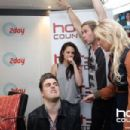 Kristen and Chris Doing Press with Hot 30 - June 20, 2012 Australia