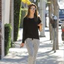 Alessandra Ambrosio Steps Out