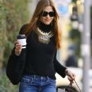 Selma Blair in Jeans – Christmas Shopping in West Hollywood - 454 x 681