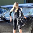 Elizabeth Olsen – Heads to Her Local Gym in Los Angeles 12/20/ 2016