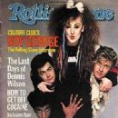Boy George - Rolling Stone Magazine [United States] (7 June 1984)