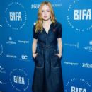 Ellie Bamber – British Independent Film Award Nominations Photocall in London - 454 x 680