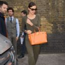 Irina Shayk Leaving The Chiltern Firehouse In London