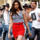 John and Deepika In Desi Boyz