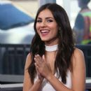 Victoria Justice – Visits 'Hollywood Today Live' in West Hollywood 10/20/2016