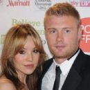 Andrew Flintoff and Rachael Wools - 454 x 346