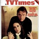 Elizabeth Taylor and Richard Burton - TV Times Magazine Cover [United Kingdom] (22 June 1973)