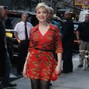 Cozi Zuehlsdorff – Arrives at Good Morning America in NYC - 454 x 744