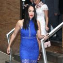 Nikki And Brie Bella Arrives – Seen at The Chew In New York - 454 x 511