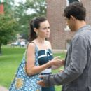 Alexis Bledel as Lena and Michael Rady as Kostos in Warner Bros. Pictures' The Sisterhood of the Traveling Pants: Part 2