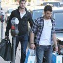 Joe Jonas shopping spree at Kidrobot (March 7)