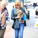 Naomi Watts is all smiles while out and about in New York City, New York with her mom Myfanwy Edwards Roberts on October 17, 2016 - 417 x 600