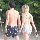 Petra Nemcova in Bikini Top on holiday in Tulum - 454 x 681