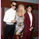 Pamela Anderson And Her Sons Attend Mercy For Animals Gala With Other Celebrities – Photos