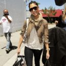Nicole Scherzinger Shopping In Los Angeles, 29 April 2010