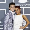 Frankie Grande and Ariana Grande - 53 Annual GRAMMY Awards held at Staples Center on February 13, 2011 in Los Angeles, California