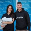 Pilar Rubio And Sergio Ramos Present Their New Born Child in Madrid - 454 x 302
