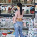 Nikki Bella in Jeans and Top – Out in Los Angeles