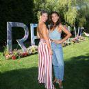 Devin Brugman and Natasha Oakley – REVOLVEinthehamptons 4th of July kick-off party in Bridgehampton - 454 x 495