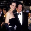 Sigourney Weaver and Jim Simpson during The 59th Annual Academy Awards (1987)