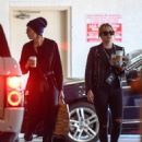 Cara Delevingne and Ashley Benson – Heading out for breakfast in Los Angeles