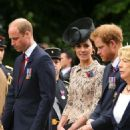Prince Windsor and Kate Middleton Attend The Somme Centenary Commemorations In France
