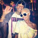 Wiz Khalifa and Amber Rose - 454 x 454