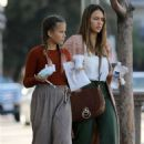 Jessica Alba and Honor Warren – Out in Brentwood - 454 x 663