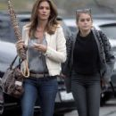 Cindy Crawford and Her Daughter Kaia Gerber Out In Malibu