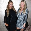 Paris and Nicky Hilton Dujour Magazine Spring Cover Party In Nyc