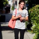 Ashley Greene - Going Back To Her Apartment After A Workout In Los Angeles - June 3 2010